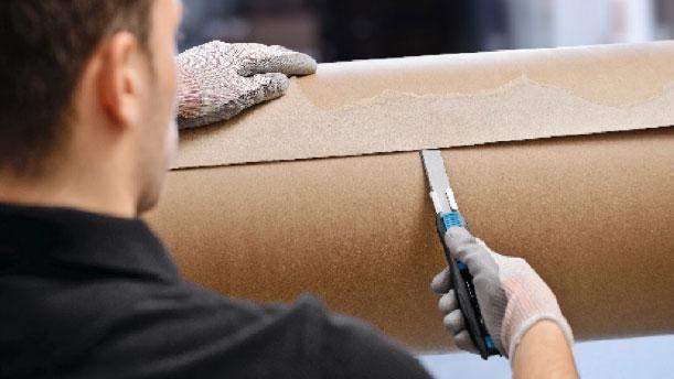 Knivar med automatisk bladindragning SECUNORM